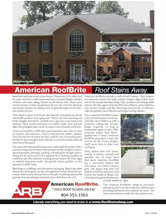 New American Roof Brite Article