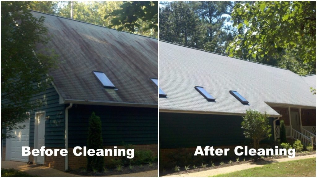 Roof Cleaning Vs Roof Replacement American Roof Brite